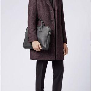Hugo Boss Leather Workbag | Traveller Bag